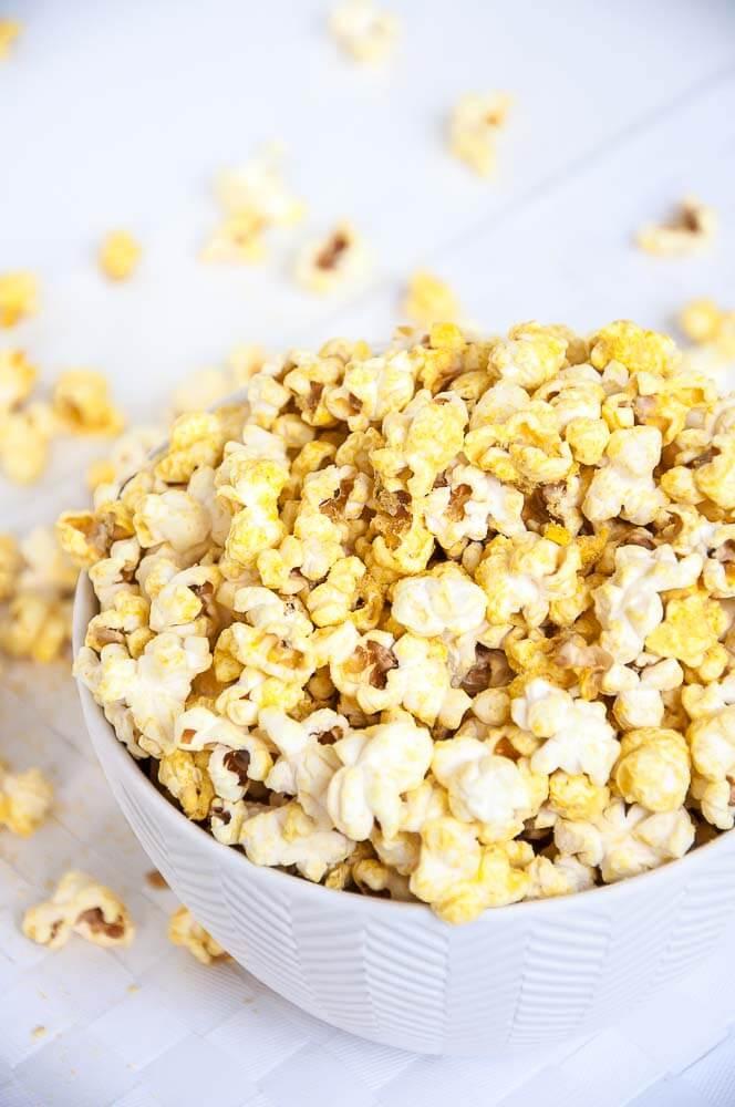 Vegan Cheese Popcorn Recipe - Vegan Family Recipes