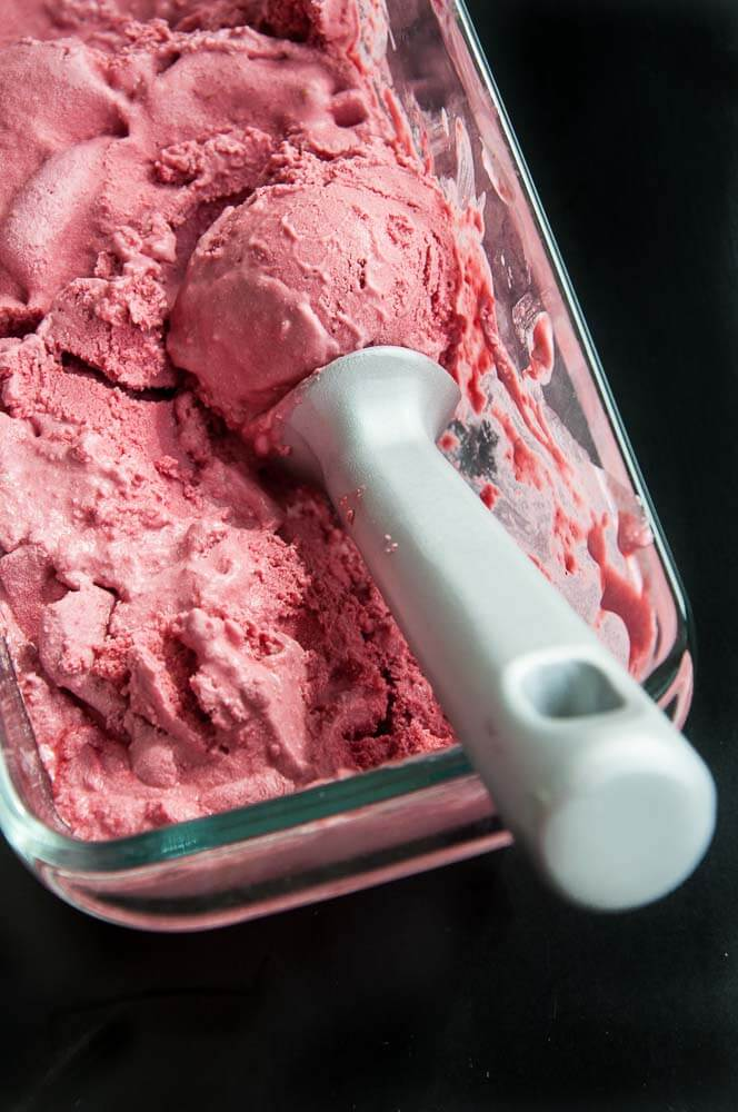 Raspberry Coconut Ice Cream Recipe - Vegan Family Recipes