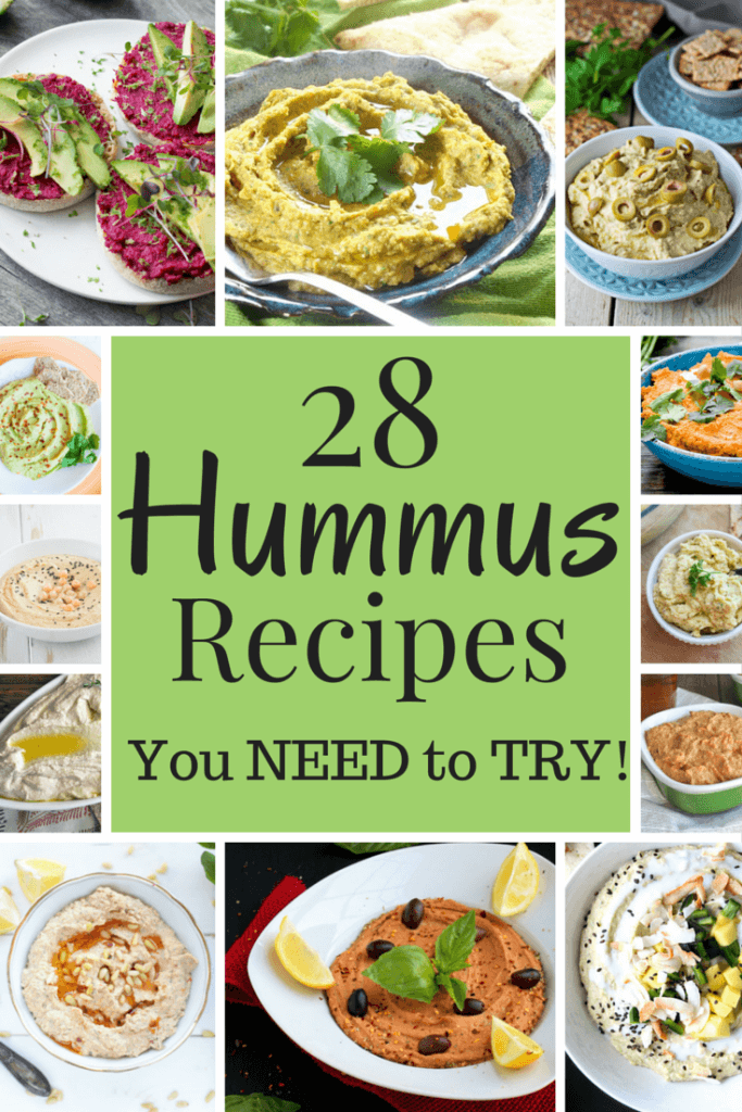 Best Hummus Recipes to Try - Veganfamilyrecipes.com Unique hummus recipes