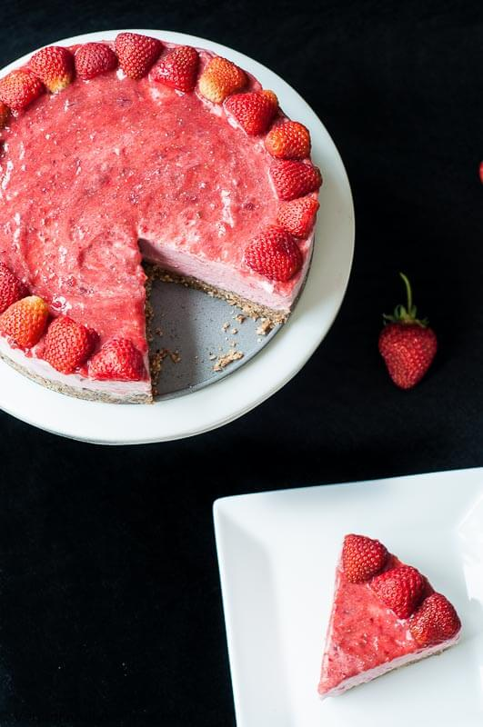 Strawberry Ice Cream Cake - Vegan Family Recipes