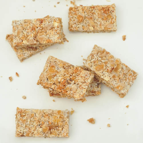 Vanilla Crunch Bar Recipe - Protein Powder Recipes