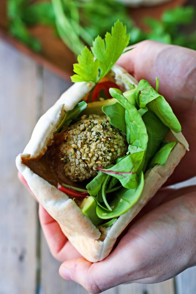 Vegan Falafel Recipe - Protein Powder Recipes