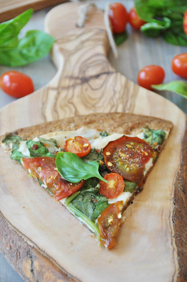 Vegan Summer Flatbread Pizza - Best Vegan Pizza Recipes