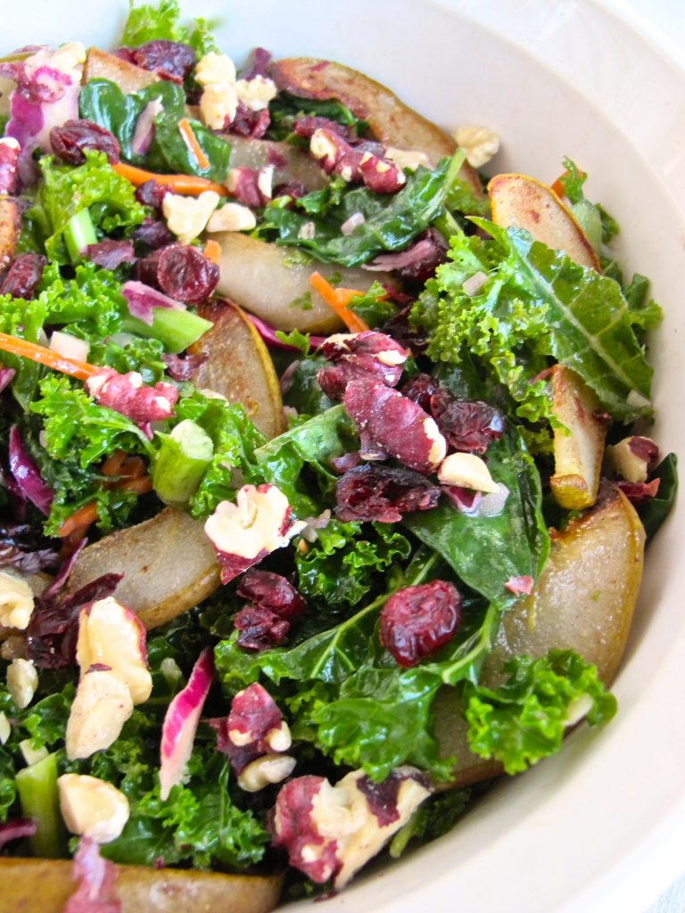 Autumn Harvest Salad Recipe - Thanksgiving