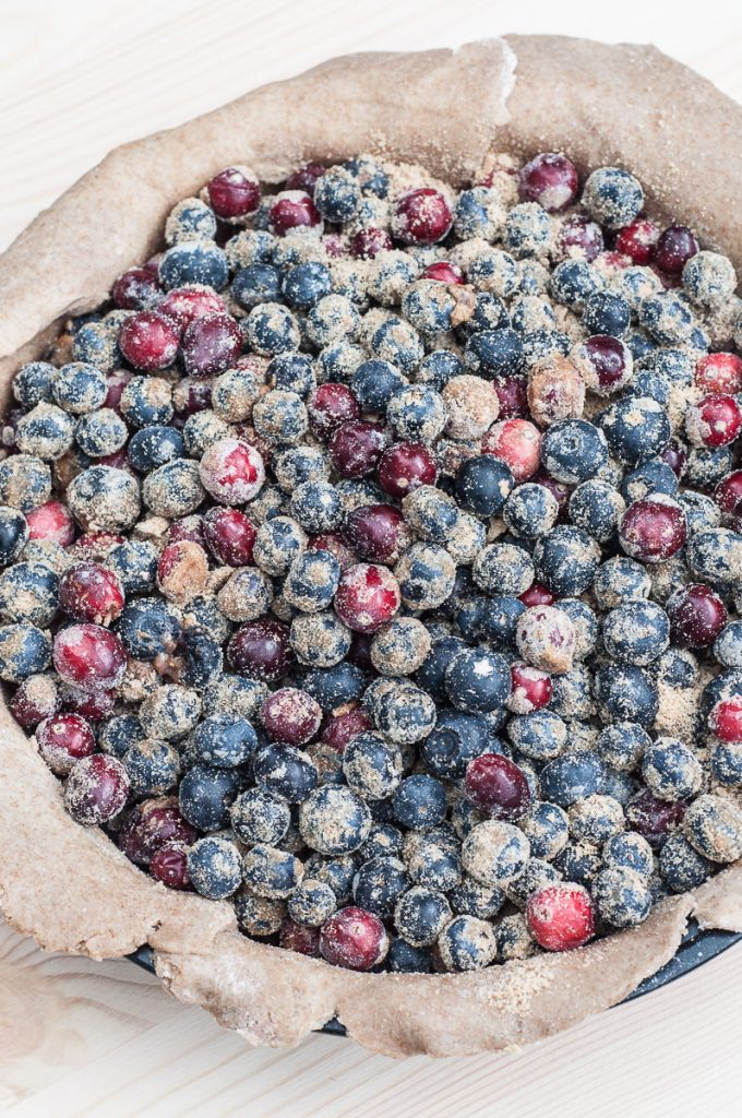 Healthy Blueberry Cranberry Pie Filling - Vegan Family Recipes
