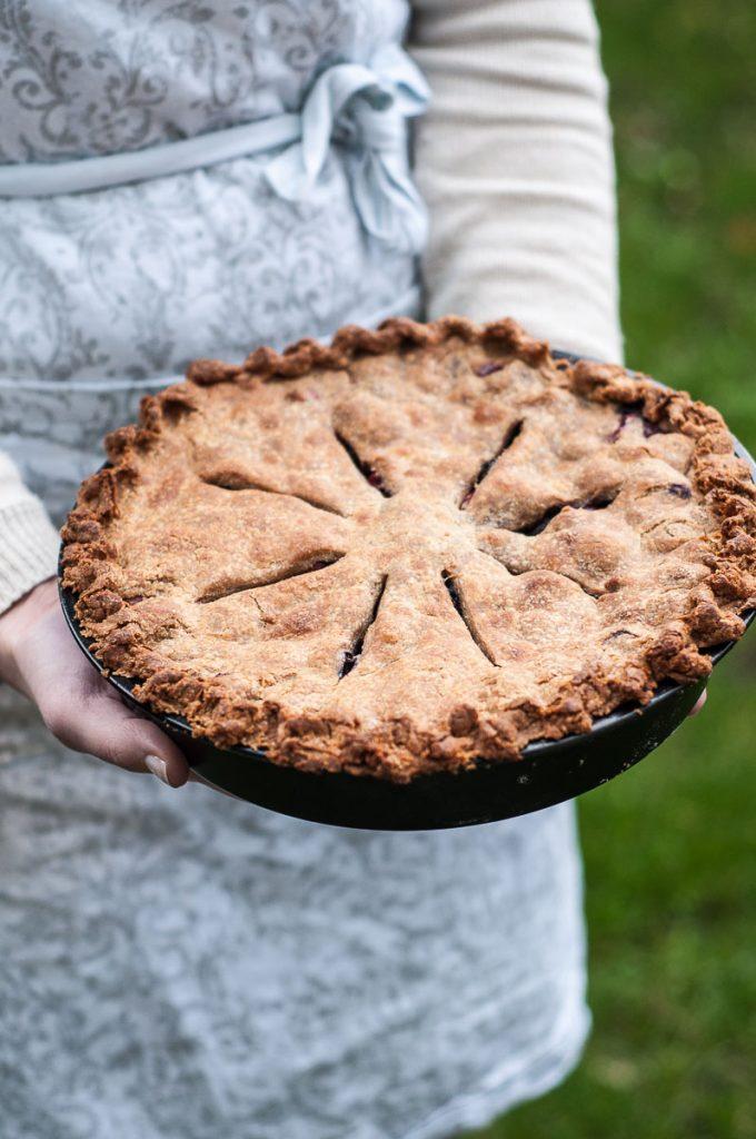 Vegan Blueberry Cranberry Pie Recipe Whole Wheat Pie Crust Filling - Vegan Family Recipes