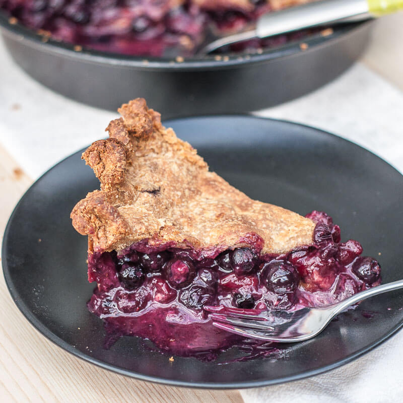 Vegan Blueberry Cranberry Pie Recipe Whole Wheat Pie Crust Filling - Vegan Family Recipes