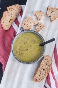 Low Fat low cal Cauliflower Kale Soup Recipe - Vegan Family Recipes