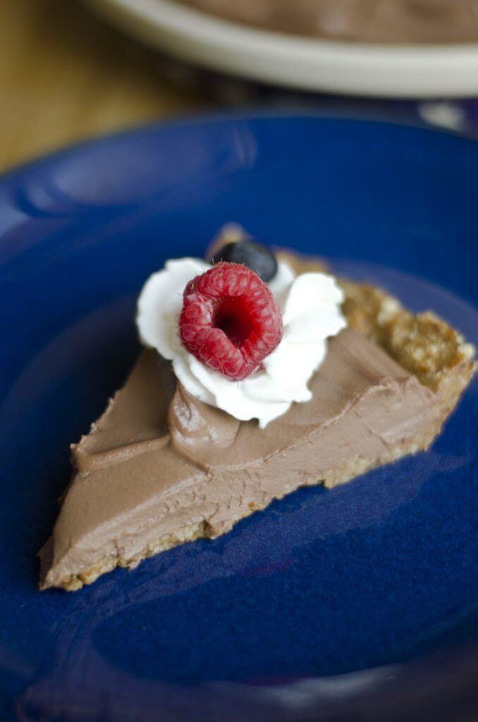 Chocolate Mousse Pie Recipe - Holiday Pie Round-up