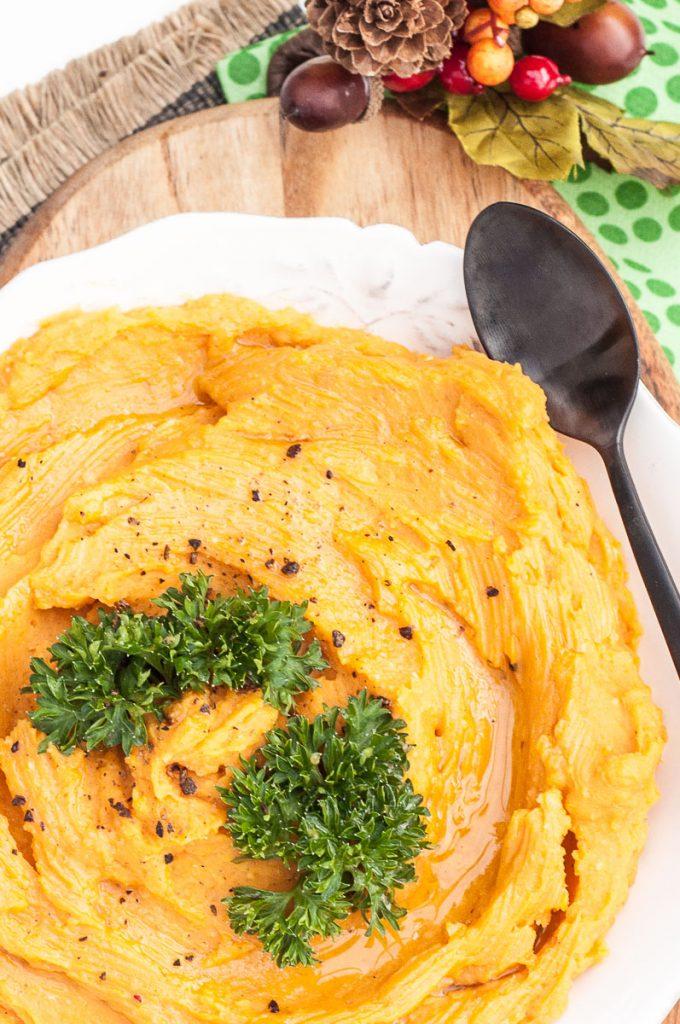Healthy Mashed Sweet Potatoes Recipe - Vegan Family Recipes