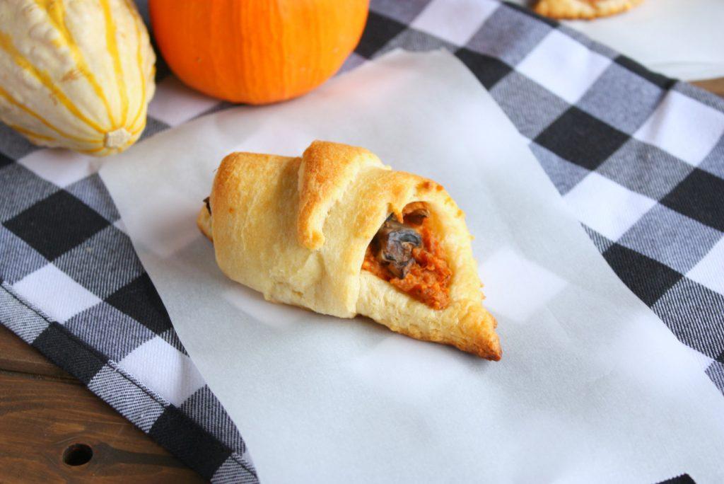 Sweet Potato Fall Crescent Recipe - Thanksgiving Round-up