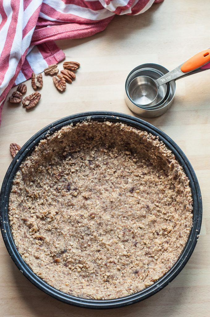 Raw Vegan Gluten free Pecan Pie Crust - Vegan Family Recipes