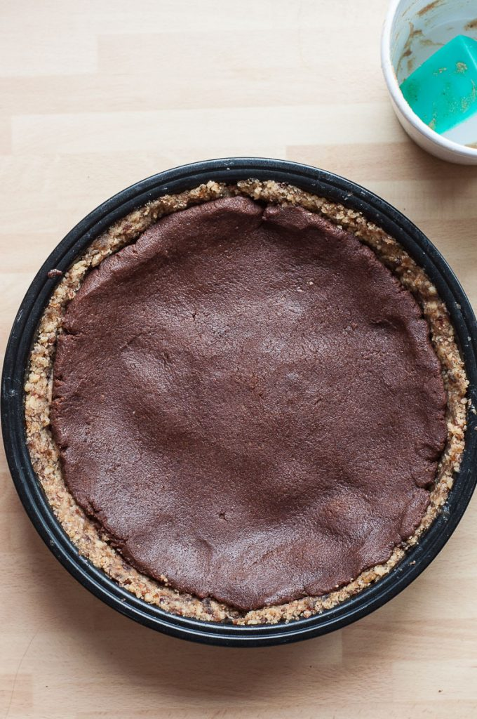 Chocolate Caramel Pecan Pie Recipe Gluten free Raw - Vegan Family Recipes