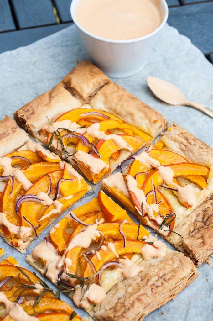 Savory Pumpkin Tart Vegan Family Recipes