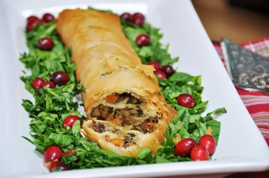 Vegan Vegetable Wellington Recipe - Vegan Thanksgiving Recipes Feast