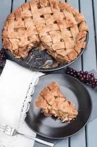 Vegan Whole Wheat Apple Pie Recipe - Vegan Family Recipes