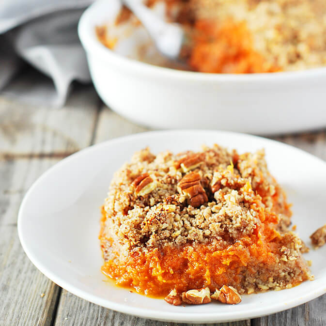 Sweet Potato Souffle Recipe - Vegan Thanksgiving Recipes Feast