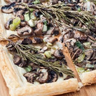 Rosemary Mushroom Tart