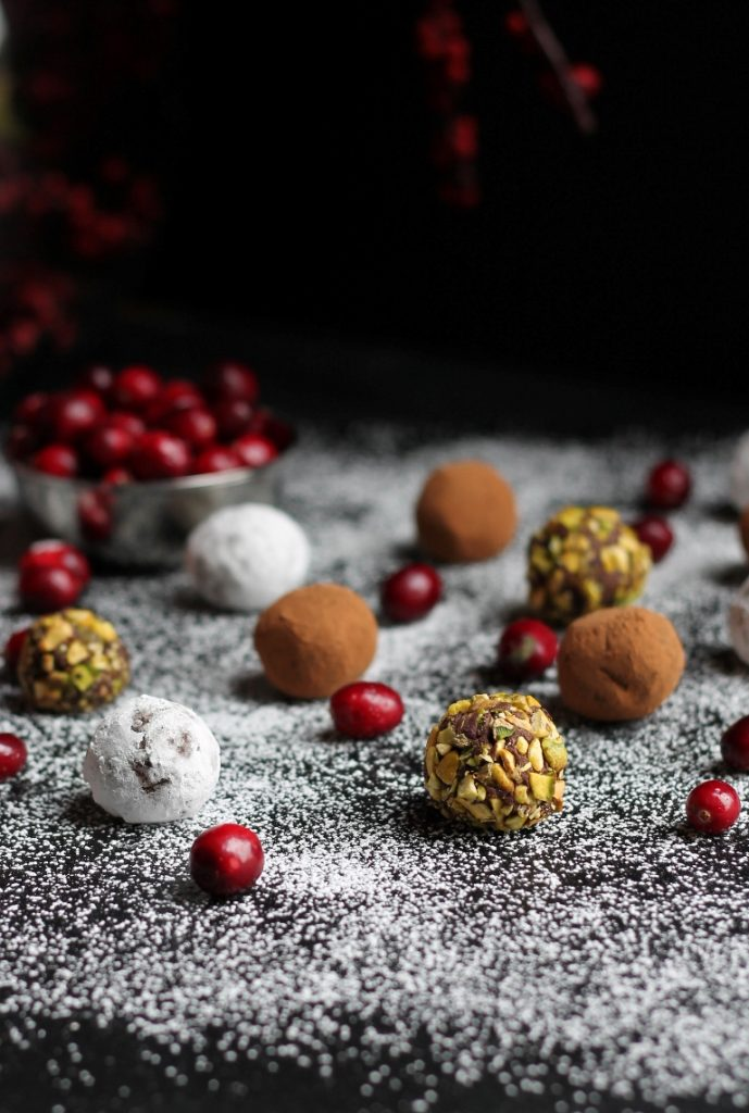 Cranberry Truffles Recipe - Holiday Chocolate Round-Up
