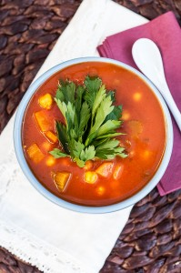 Moroccan Harira Soup Recipe - Vegan Family Recipes #healthy #glutenfree #dinner