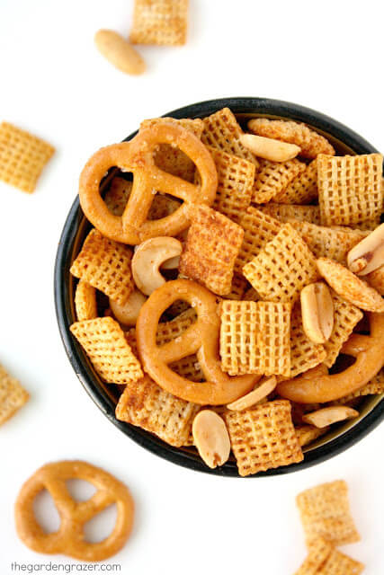 Chex Mix Recipe - Vegan Snacks for Kids Recipes