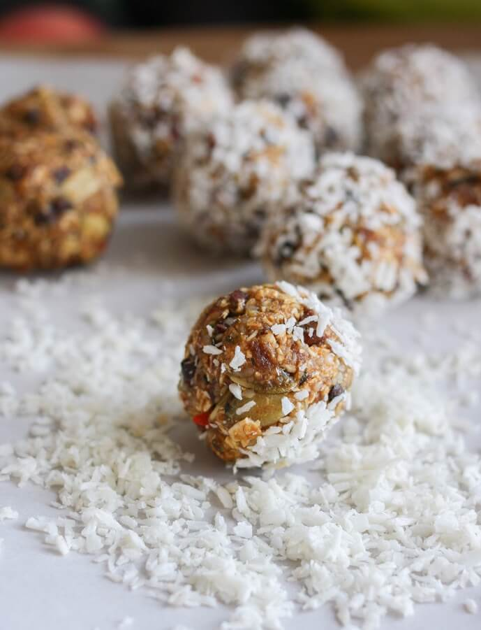 Superfood Ball Recipe - Healthy Vegan Snacks for Kids & Teens Recipes
