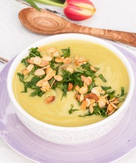 Potato and Pea Soup Recipe #vegan #glutenfree #health