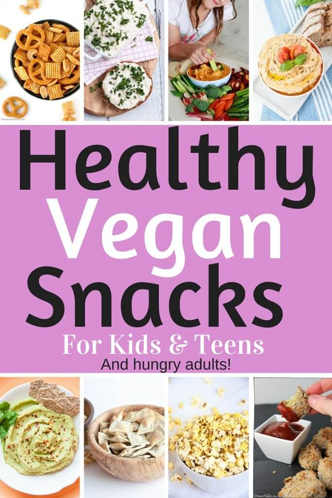 Healthy Vegan Snacks For Kids Teens Savory Edition