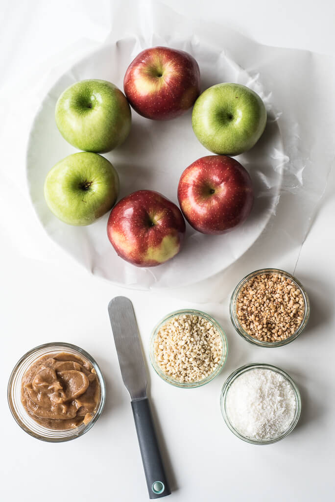 vegan caramel apple recipe ingredients needed , quick 10 minute caramel apples | Vegan Family Recipes | #healthy #dairyfree