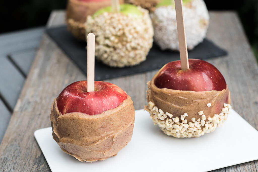 Raw Vegan Caramel Apples - Vegan Family Recipes