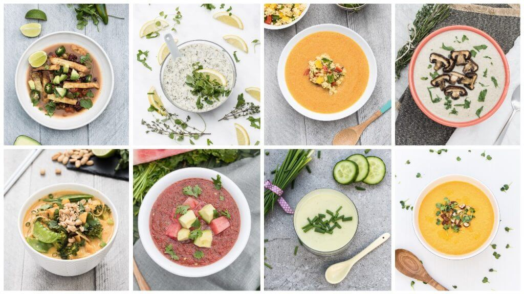 Awesome Vegan Soups Cookbook Recipes - Vanessa Croessmann - Vegan Family Recipes