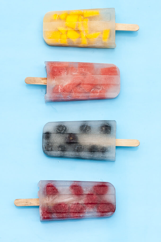 Coconut Water Popsicles (Perfect Low-Cal Summer Pops!) - Vegan Family Recipes