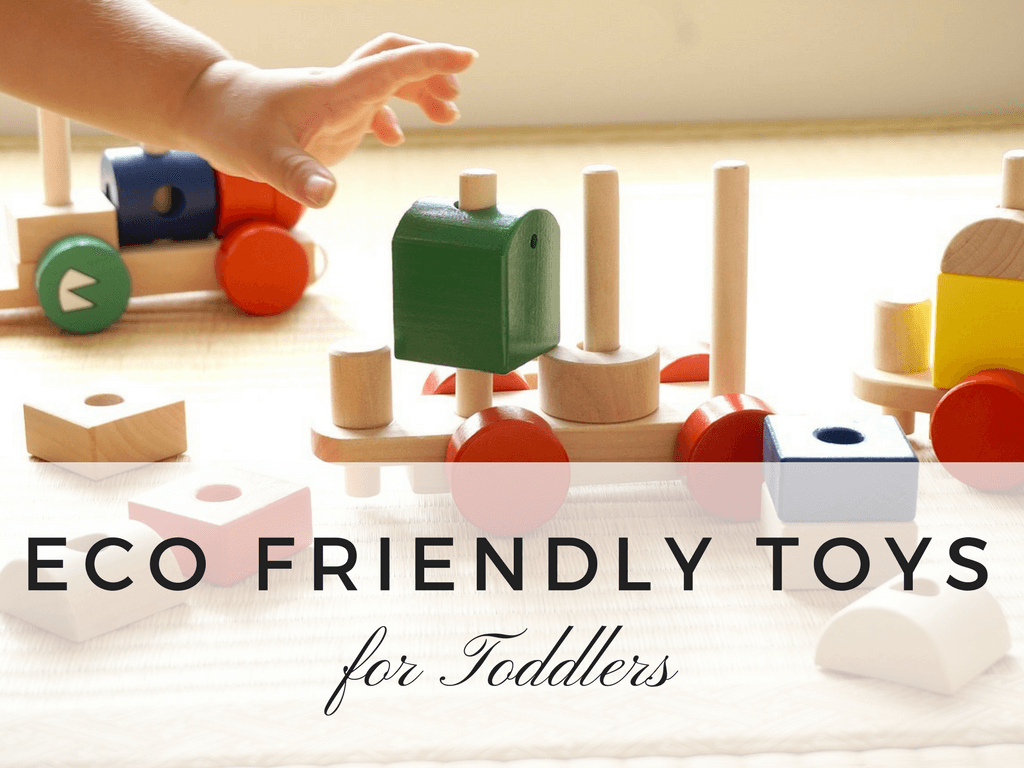 List of Eco Friendly Toys for Toddlers and Kids - wooden, non toxic, bpa free, ealthy toys for kids to play with //// VeganFamilyRecipes.com #greenliving #eco