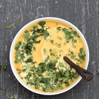 Coriander Carrot Soup – Vegan & GF